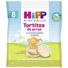 TORTITAS DE ARROZ BIO PARA BEBES (a partir de los 8 meses) HIPP