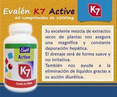 EVALEN ACTIVE K7 60 Comp.1000mg.