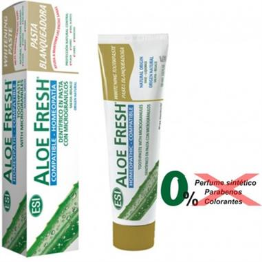 ALOE FRESH PASTA BLANQUEADOR  100 ml. (compatible con homeopatia)