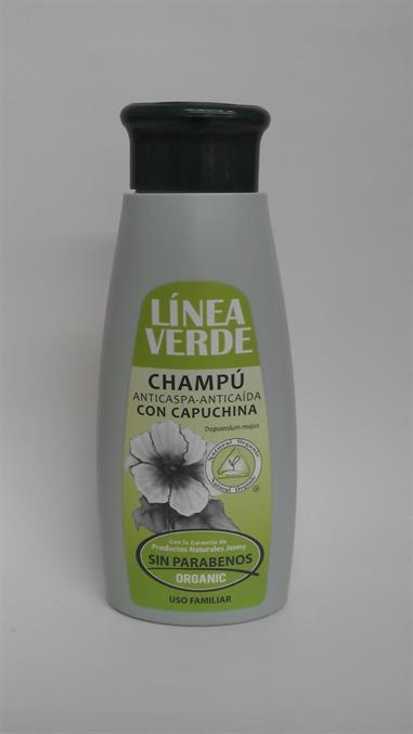CHAMPU ANTICASPA-ANTICAIDA capuchina 400 ml