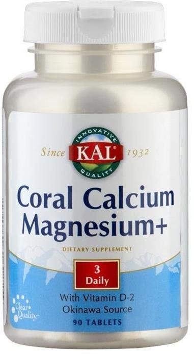CORAL CALCIUM MAGNESIUM 90 Comp.  KAL