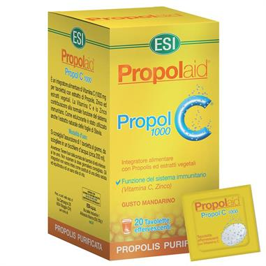 PROPOLAID PROPOL 1000 C (efervescente) 20 Tab. ESI