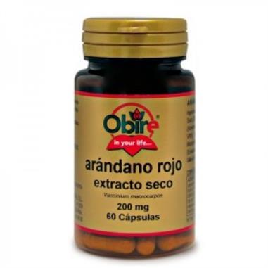 ARANDANO ROJO 5000 mg. (ext.seco 200 mg.) 60 Cap. OBIRE