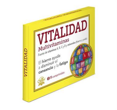 VITALIDAD MULTIVITAMINAS 15 Comp. OBIRE