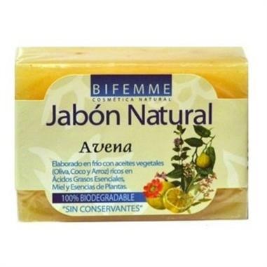 JABON NATURAL DE AVENA 100 Gr.  BIFEMME  YNSADIET