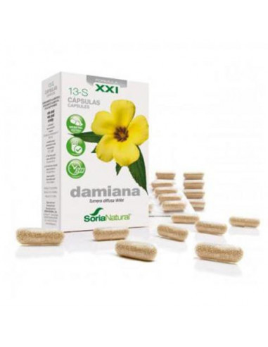 13-S DAMIANA 30 Cap.690 mg. SORIA NATURAL