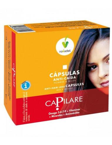 CAPILARE CAPSULAS ANTICAIDA  60 Cap. NOVADIET
