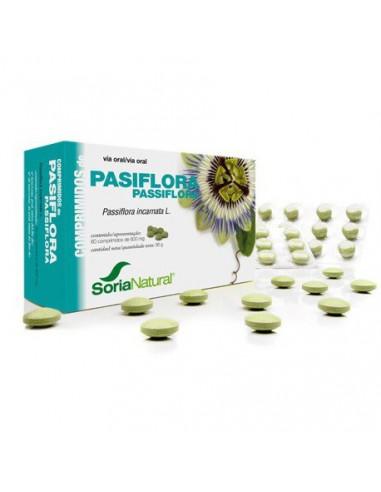 PASIFLORA EN COMPRIMIDOS - 60 Comp. SORIA NATURAL