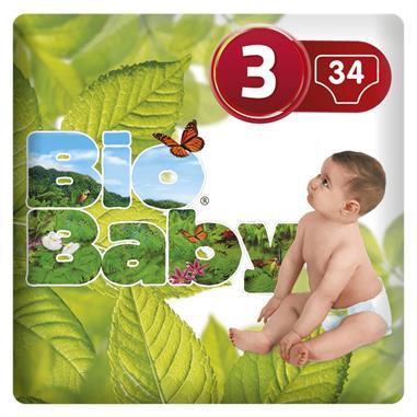 BIO BABY PAÑALES T3 - (7 A 10 Kg.)
