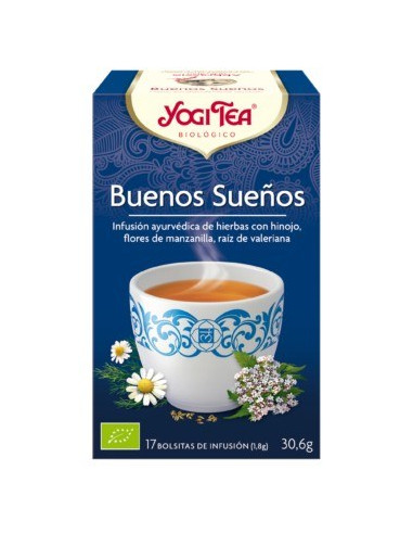 BUENOS SUEÑOS  - YOGI TEA  17 Bol.