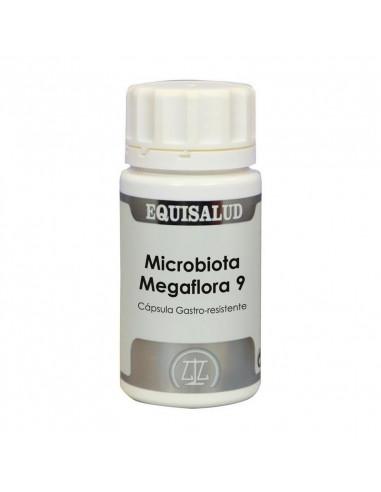 MICROBIOTA MEGAFLORA 9 - 60 Cap. EQUISALUD