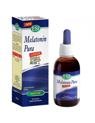 MELATONIN PURA JUNIOR ESI sabor chocolate blanco 40 ml.