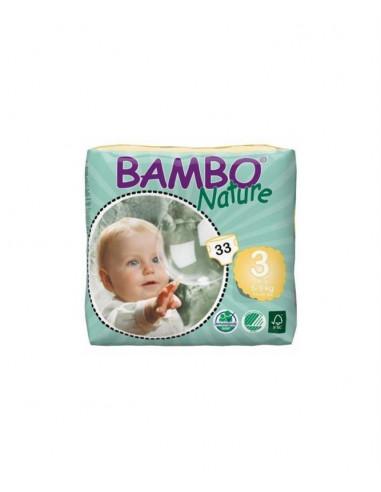 PAÑALES BAMBO TALLA 3 - 5-9 Kg