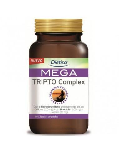 MEGA TRIPTO COMPLEX DIETISA 60 Caps.