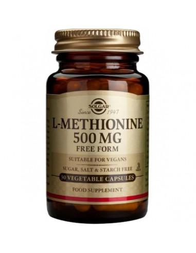 L-METHIONINE 500 mg. 30 cap. SOLGAR