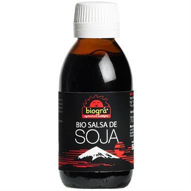 SALSA DE SOJA BIO 150 ml. BIOGRÁ