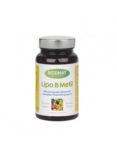 LIPO B METIL 60 Cap MEDNAT