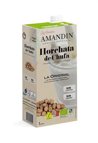 HORCHATA DE CHUFA  ECOLOGICA - 1 Lt. AMANDIN