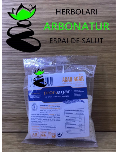 AGAR AGAR EN COPOS - 50 Gr PRON AGAR