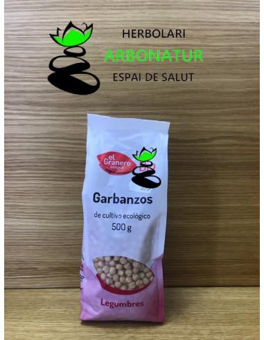 GARBANZOS ECO 500 Gr. EL GRANERO INTEGRAL