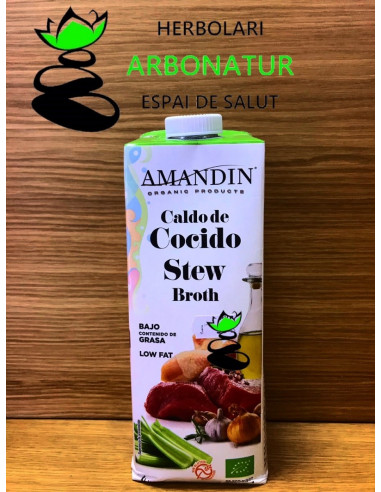 CALDO DE COCIDO ECO 1 Lr. AMANDIN