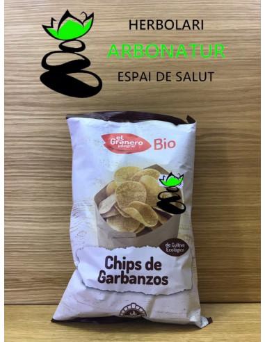 CHIPS DE GARBANZOS BIO  80 Gr. EL GRANERO INTEGRAL
