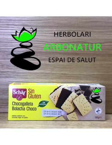 BISCOTTI CON CHOCOLATE 150 Gr. SCHAR