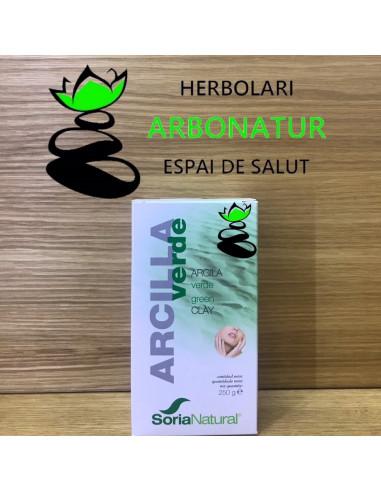 ARCILLA VERDE 250 Gr. ( USO EXTERNO ) SORIA NATURAL