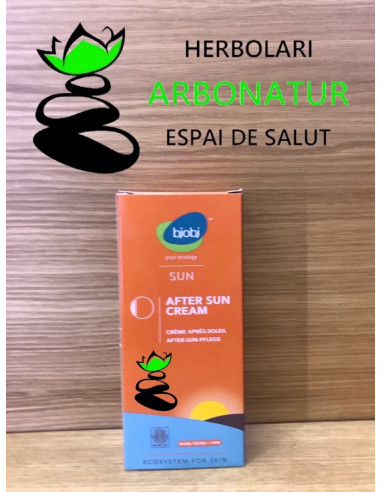 AFTER SUN CREAM CON KARITE ALOE VERA - 150 ML. BJOBJ
