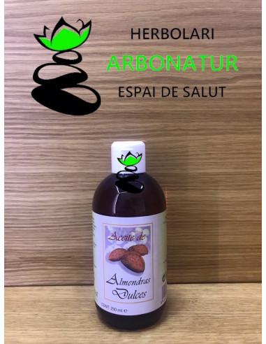 ACEITE DE ALMENDRAS DULCES 250 ml. PLANTAPOL
