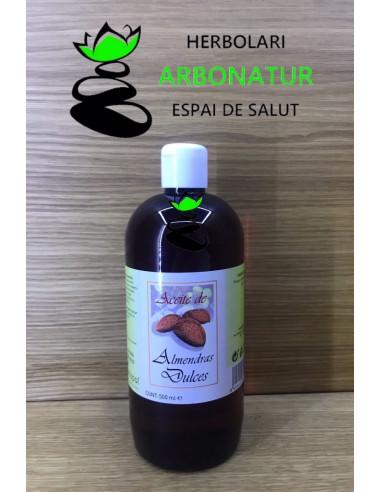ACEITE DE ALMENDRAS DULCES 500 ml. PLANTAPOL