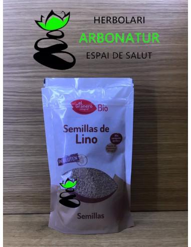 SEMILLAS DE LINO ECO  250 Gr. EL GRANERO INTEGRAL