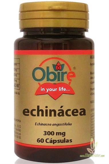 ECHINÁCEA 300 Mg. - 60 Cap. OBIRE