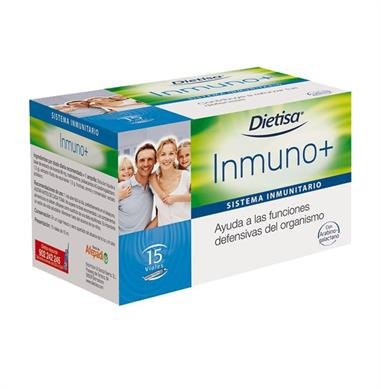 INMUNO + - 15 Viales.