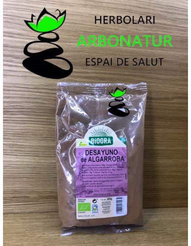 DESAYUNO DE ALGARROBA - 250 Gr. BIOGRÁ