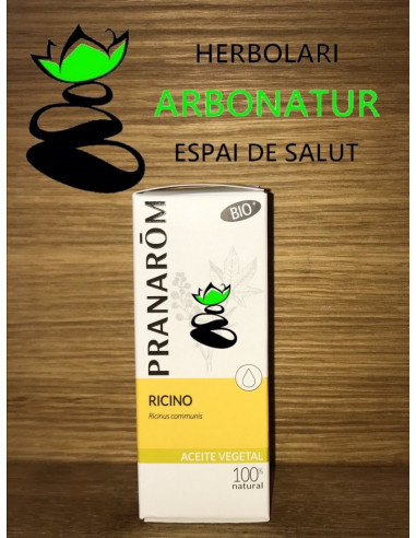 ACEITE DE RICINO BIO 50 ml. PRANARÔM