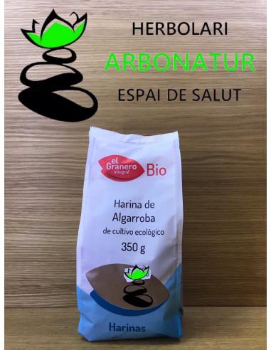 HARINA DE ALGARROBA ECO - 350 Gr. EL GRANERO INTEGRAL