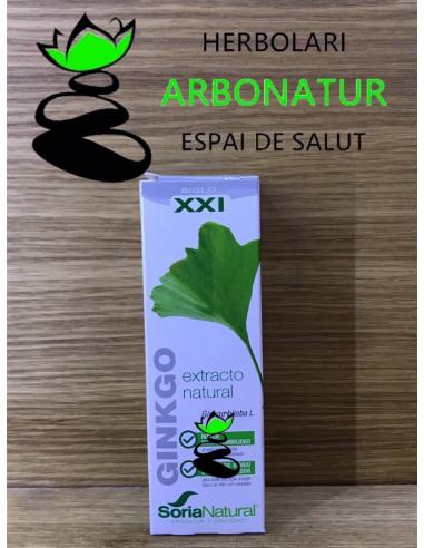 EXTRACTO LIQUIDO DE GINGKO BILOBA 50 ml.  SORIA NATURAL
