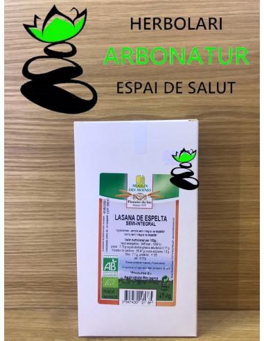 LASAÑA DE ESPELTA SEMI INTEGRAL ESPELTA - BIO 250 Gr.MOULIN DES MOINES