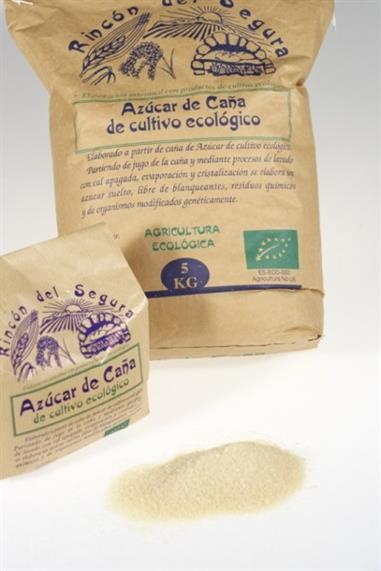 SACO DE AZUCAR DE CAÑA ECO - 5 Kg. RINCON DEL SEGURA