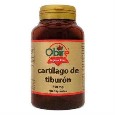 CARTILAGO DE TIBURÓN - 740 Gr. 90 Cap. OBIRE