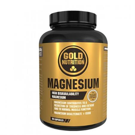 MAGNESIO 60 Cap. 600 Mg. GOLD NUTRITION