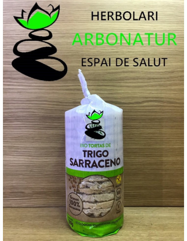 TORTAS DE TRIGO SARRACENO SIN GLUTEN BIO  SOL NATURAL