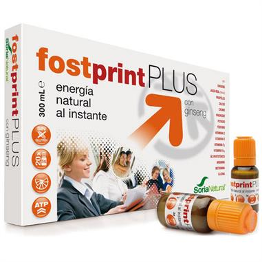 FOSTPRINT PLUS  CON GINSENG 300 ML. SORIA NATURAL