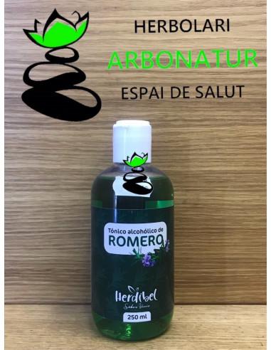 TONICÓ ALCOHOLICO DE ROMERO 250 ml. HERDIBEL