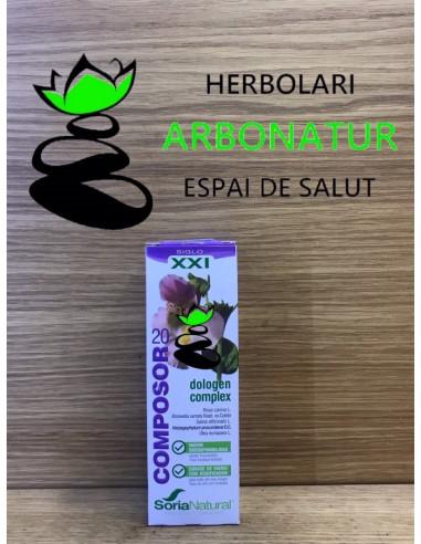 DOLOGEN COMPLEX 50 ml. COMPOSOR 20 - SORIA NATURAL