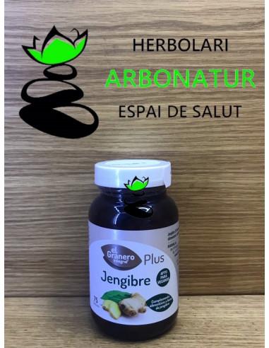 JENGIBRE  PLUS 75 Comp. 528 mg. EL GRANERO INTEGRAL