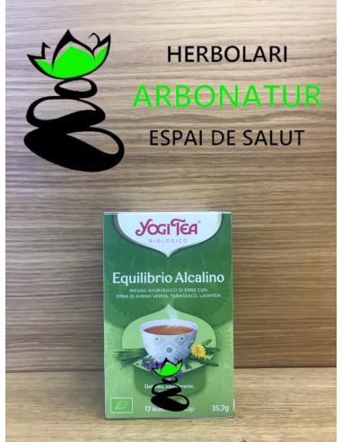 YOGI TEA - EQUILIBRIO ALCALINO 17 Bol.