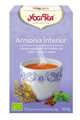 YOGI TEA ARMONÍA INTERIOR  17 bolsa   30.6 Gr