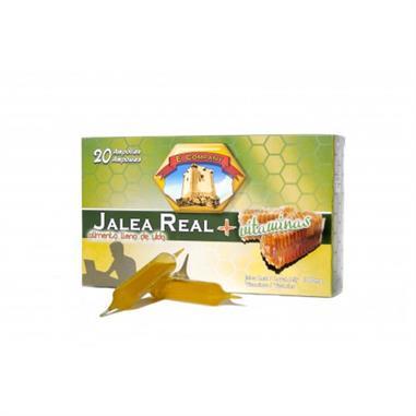 JALEA REAL + VITAMINAS  20 amp.  1000 ML. E. COMPANY